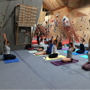 Corporate Yoga at ClimbOZ